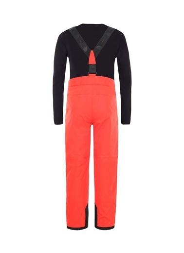 The North Face Snowquest Suspender Plus Çocuk Pantolon Kırmızı Kırmızı